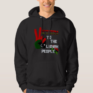 Libya - people army victory Artwork gifts Hoodie