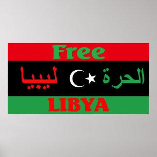 Libya poster - ليبيا الحرة