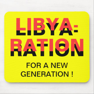 LIBYA-RATION FOR A NEW GENERATION MOUSE PAD