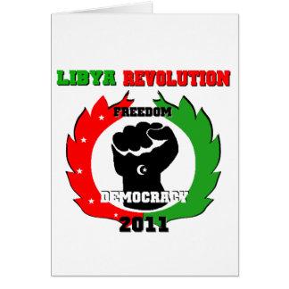 Libya Revolution Card