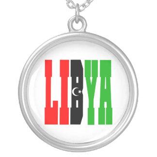 Libya Round Pendant Necklace