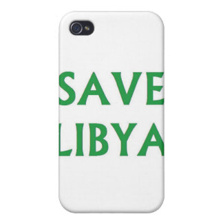 Libya - Save Libya iPhone 4 Cases