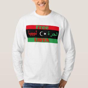 Libya shirt - Free Libya ليبيا الحرة