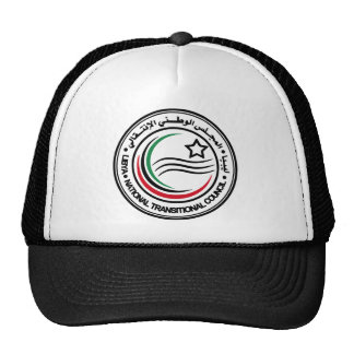 libya transitional council seal hats