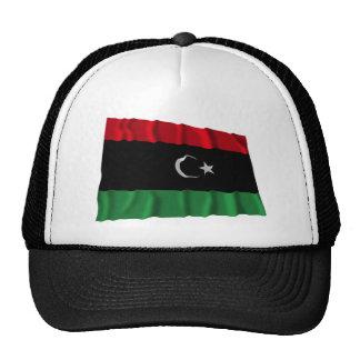 Libya Waving Flag Trucker Hat
