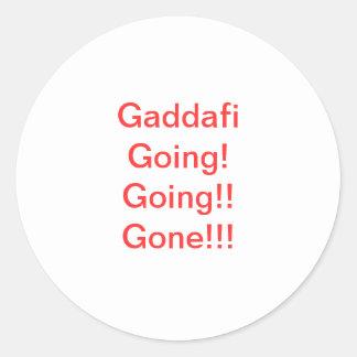 Libyan Anti-Gaddafi Sticker