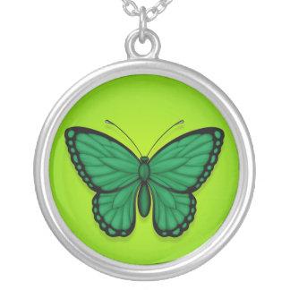 Libyan Butterfly Flag on Green Custom Jewelry
