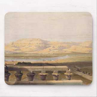 Libyan Chain of Mountains from the Temple of Luxor Mouse Pad