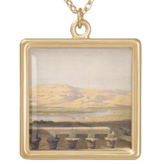Libyan Chain of Mountains from the Temple of Luxor Necklace