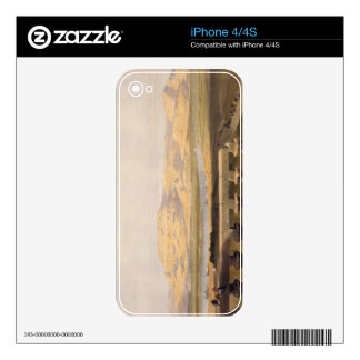Libyan Chain of Mountains from the Temple of Luxor iPhone 4 Skins