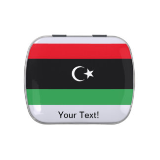 Libyan Flag Jelly Belly Candy Tin