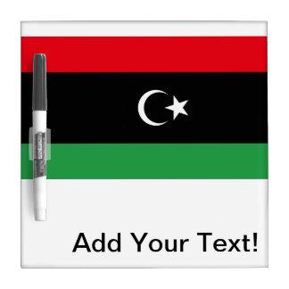 Libyan Flag Dry Erase Whiteboards