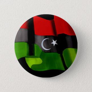 Libyan flag of Libya Independence Monarchy flag Pinback Button
