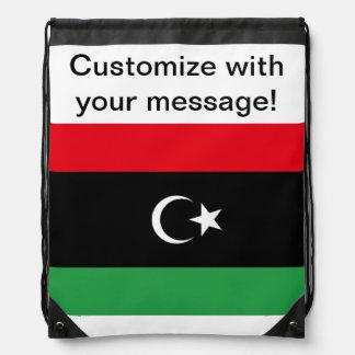 Libyan Flag Cinch Bag