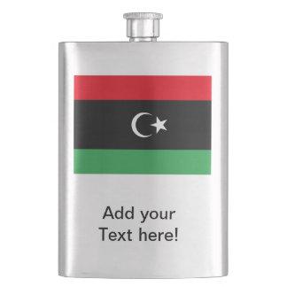 Libyan Flag Hip Flask