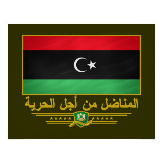 Libyan Freedom Fighter Poster