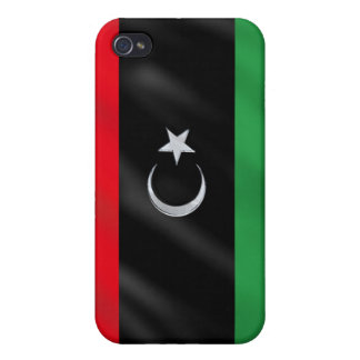 Libyan Independence flag - Free Libya protest flag iPhone 4 Case