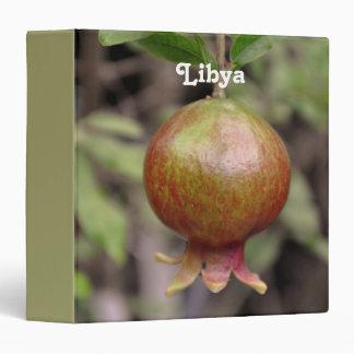 Libyan Pomegranate Binder