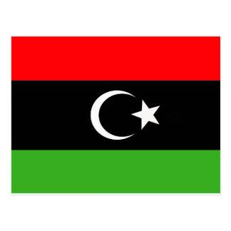 Libyan Rebel Flag Postcard