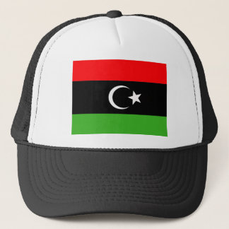 Libyan Rebel Flag Trucker Hat