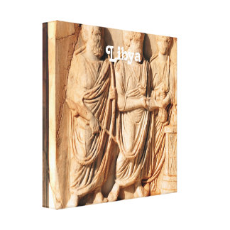 Libyan Sculpture Gallery Wrapped Canvas