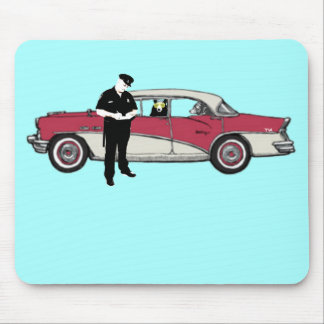 licence and registration please mouse pad