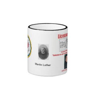 Licence To Sin Ringer Coffee Mug