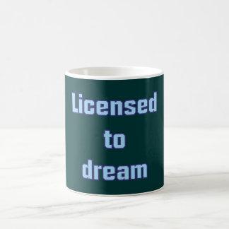Licenced ton dream classic white coffee mug