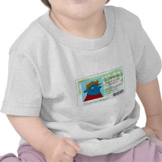 Licencia de conductores camisetas