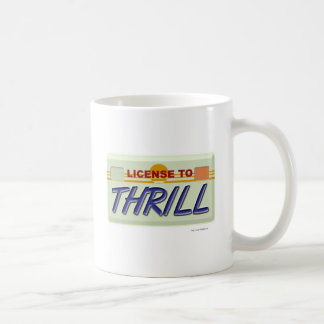 Licencia de emocionar tazas de café