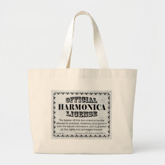 Licencia de Harnonica Bolsa Tela Grande