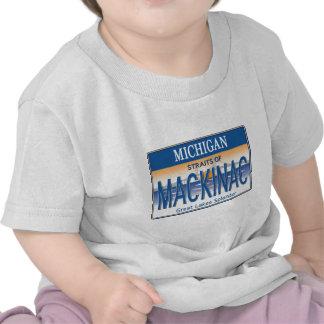 Licencia de Mackinac Camisetas