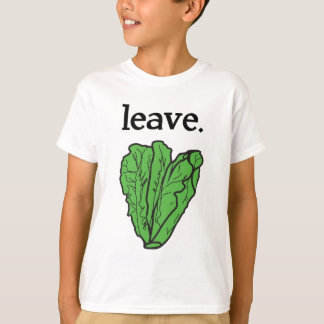 licencia. (lechuga romana) camisas