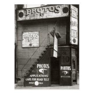 License Photo Studio, 1934 Postcard