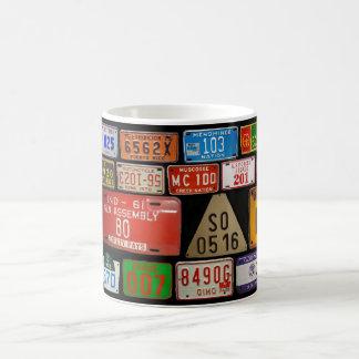 License Plate Collector mug 3
