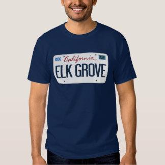 License Plate Elk Grove California T Shirt