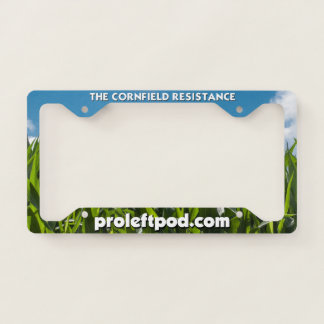 License Plate Frame - The Cornfield Resistance