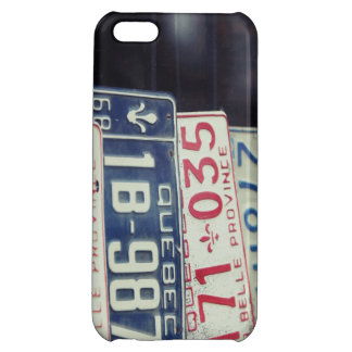 License Plate iPhone 5C Case