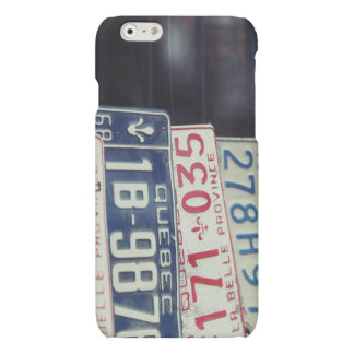 License Plate iPhone 6 Case