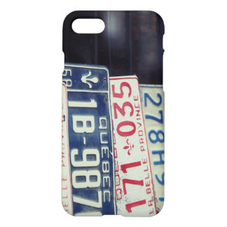 License Plate iPhone 7 Case
