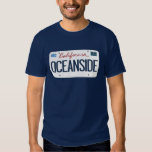 License Plate Oceanside California T Shirt