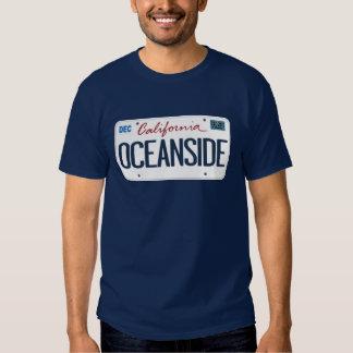 License Plate Oceanside California T Shirt