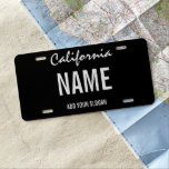 """License Plate - State<br><div class=""""desc"""">Make your own custom auto item. Add your own text,  images,  colors etc.   Custom Text Type,  easily add your own text.</div>"""