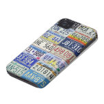 LICENSE PLATES iPhone 4 PROTECTORES