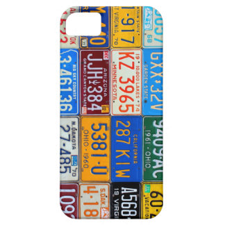 License Plates of USA - Our Colorful History iPhone 5 Cases