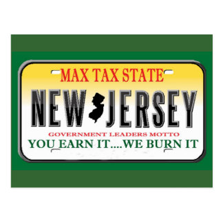 License Plates Post Cards