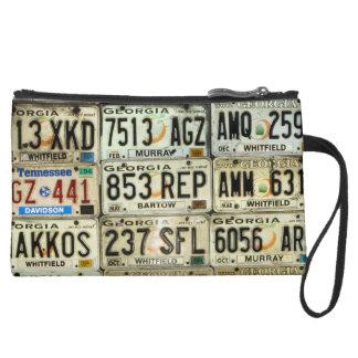License Plates Wristlets