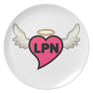 License Practical Nurse Plate