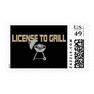 License To Grill Postage