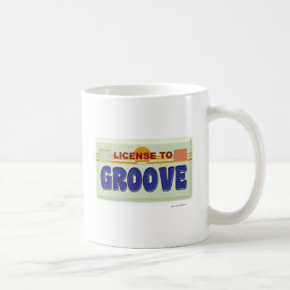 License To Groove Coffee Mug